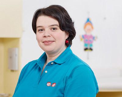 Romy Berg, Fachärztin für Kinder- und Jugendmedizin