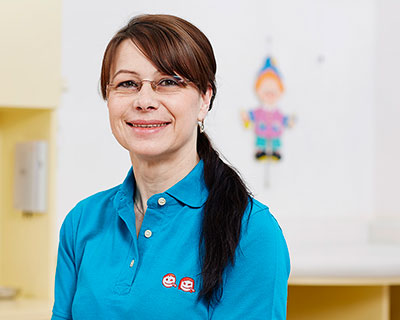 Andrea Dietz, Kinderarztpraxis Romy Berg in Halle